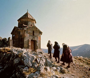 Armenian village church